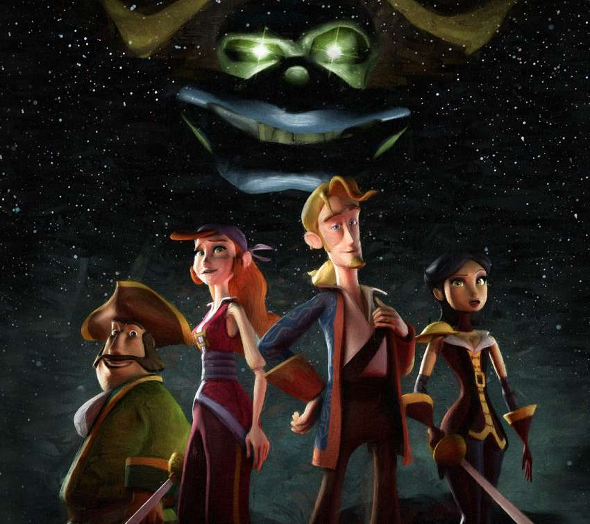 Tales of Monkey Island achtergrond