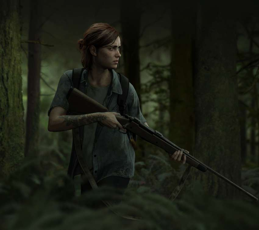The Last of Us: Part 2 Mobiele Horizontaal achtergrond
