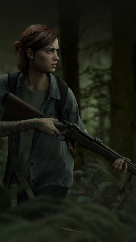 The Last of Us: Part 2 Mobiele Verticaal achtergrond