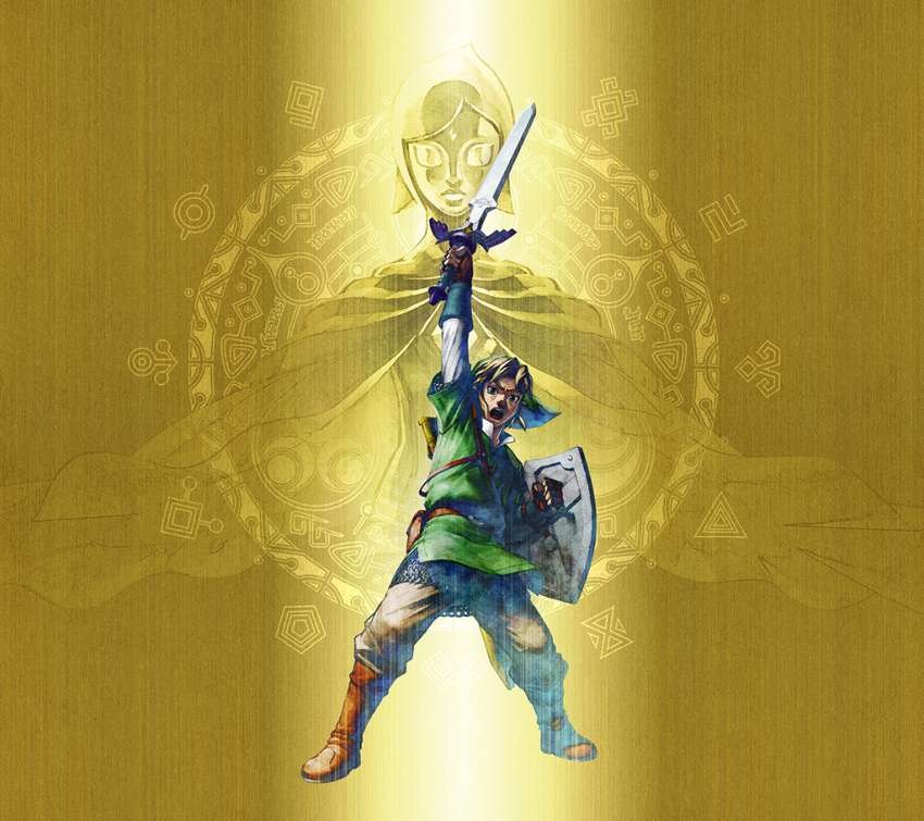 The Legend of Zelda: Skyward Sword achtergrond