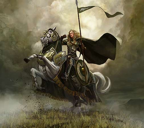 The Lord of the Rings Online: Riders of Rohan Mobiele Horizontaal achtergrond