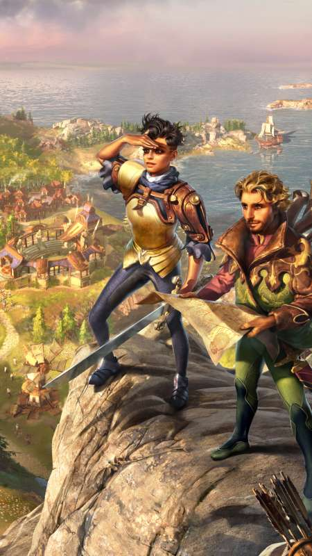 The Settlers: History Collection Mobiele Verticaal achtergrond