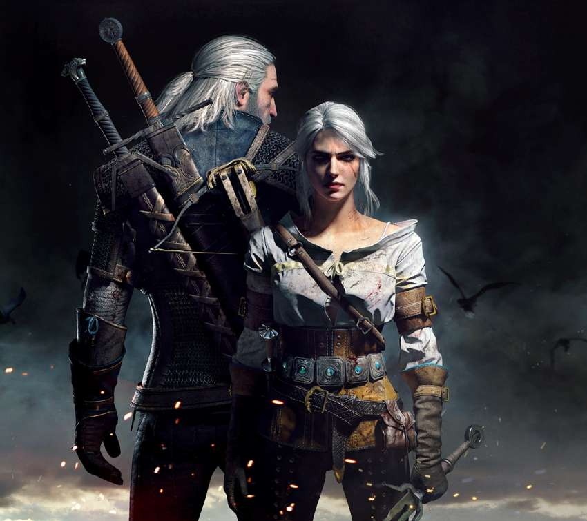 The Witcher 3: Wild Hunt Mobiele Horizontaal achtergrond