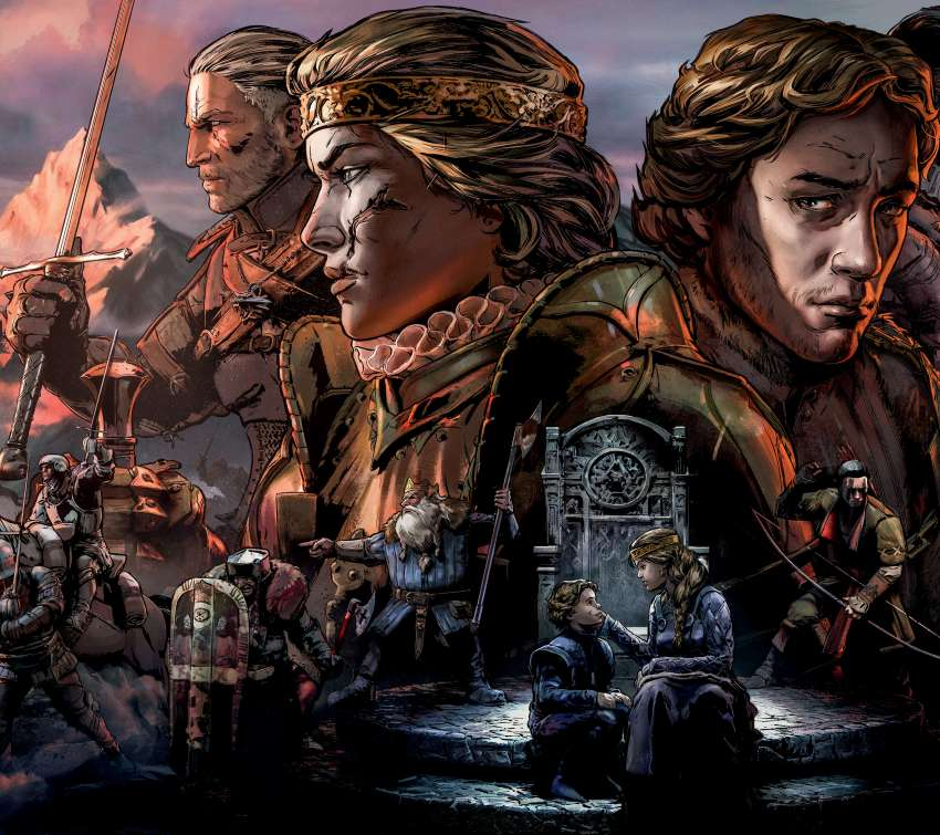 Thronebreaker: The Witcher Tales Mobiele Horizontaal achtergrond