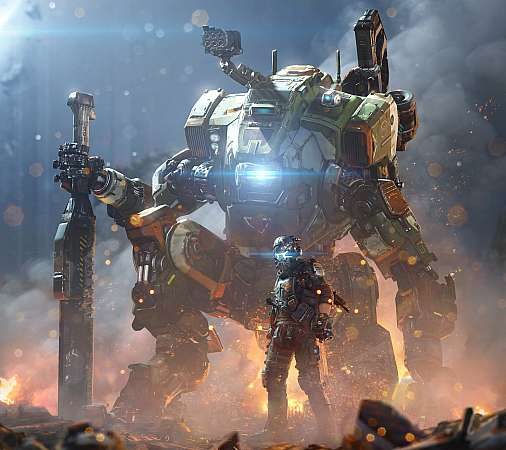 Titanfall 2 Mobiele Horizontaal achtergrond