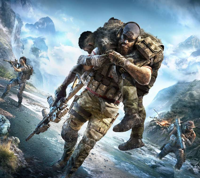 Tom Clancy's Ghost Recon Breakpoint Mobiele Horizontaal achtergrond