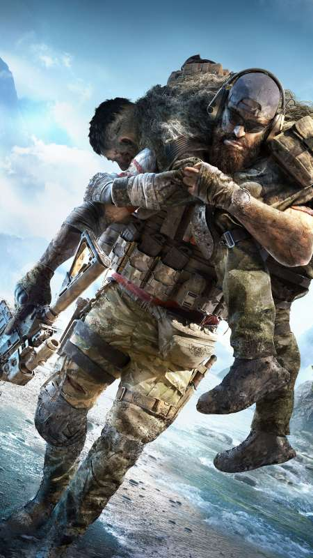 Tom Clancy's Ghost Recon Breakpoint Mobiele Verticaal achtergrond