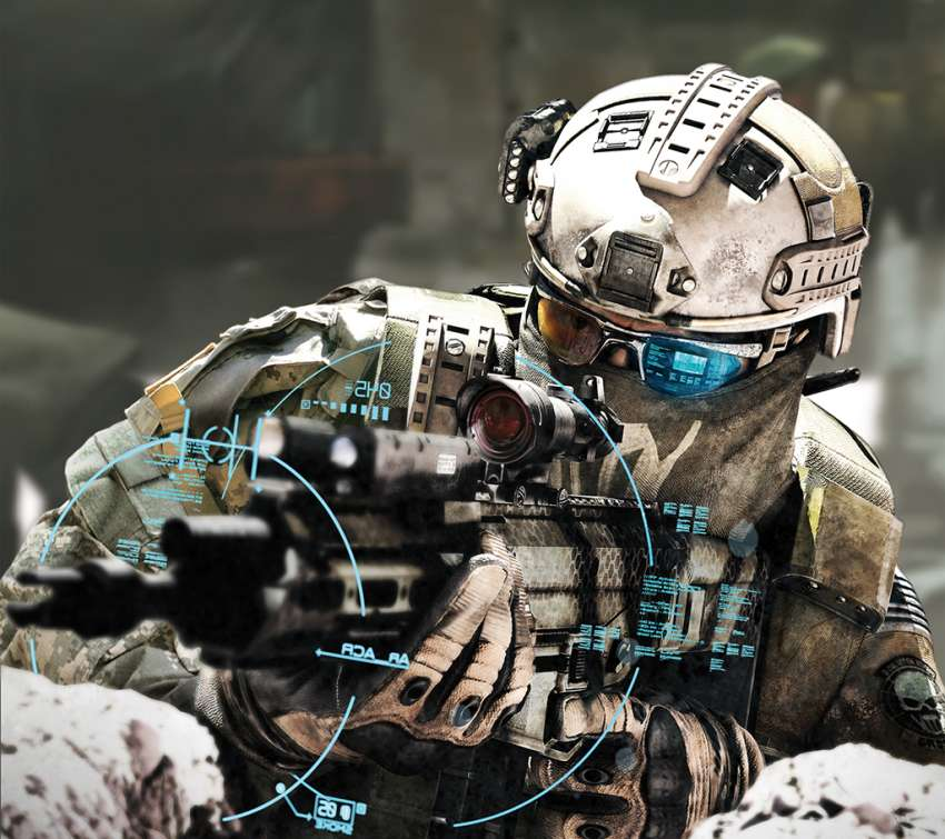 Tom Clancy's Ghost Recon: Future Soldier Mobiele Horizontaal achtergrond