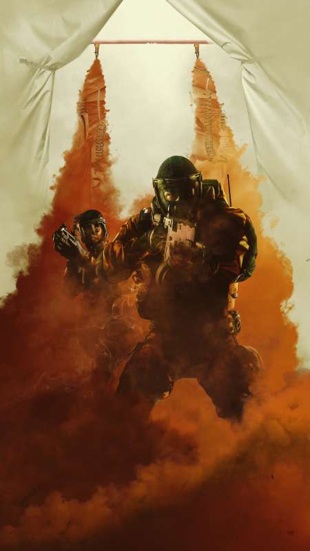Tom Clancy's Rainbow Six: Siege - Operation Chimera Mobiele Verticaal achtergrond