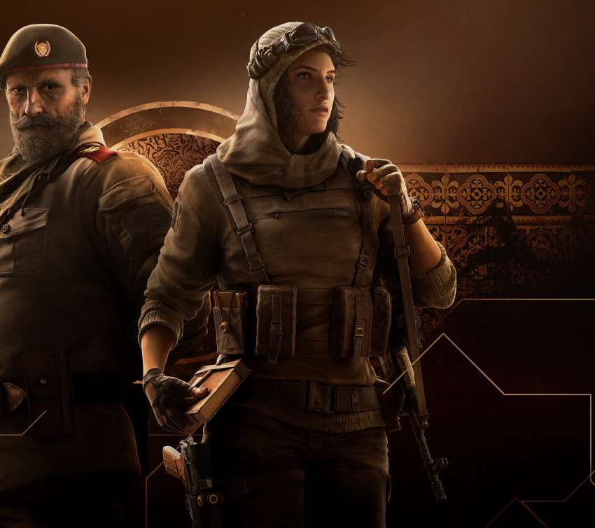 Tom Clancy's Rainbow Six: Siege - Operation Wind Bastion Mobiele Horizontaal achtergrond