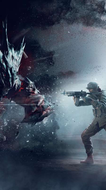 Tom Clancy's Rainbow Six: Siege - Outbreak Mobiele Verticaal achtergrond