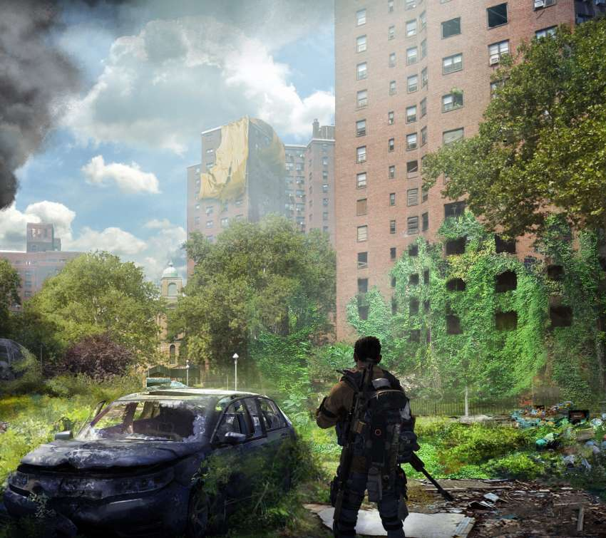 Tom Clancy's The Division 2 - Warlords of New York Mobiele Horizontaal achtergrond