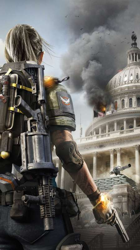 Tom Clancy's The Division 2 Mobiele Verticaal achtergrond
