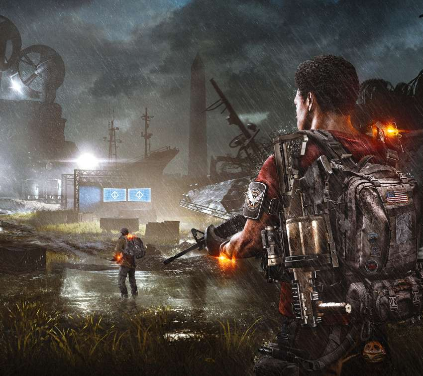 Tom Clancy's The Division 2 Mobiele Horizontaal achtergrond