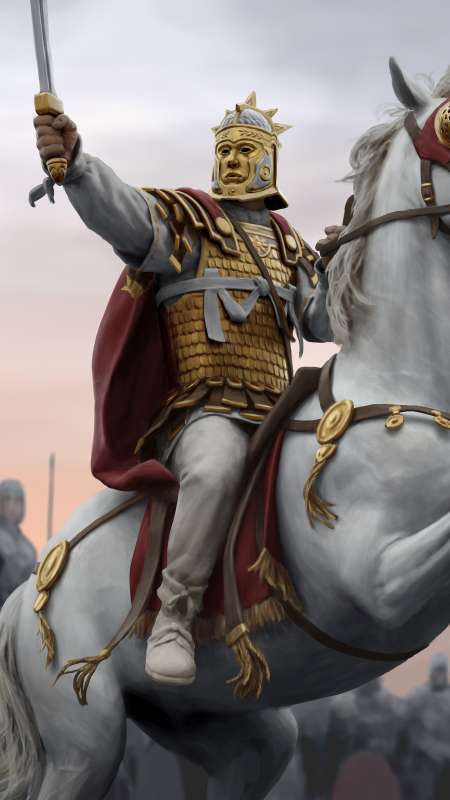 Total War: Rome 2 - Empire Divided Mobiele Verticaal achtergrond