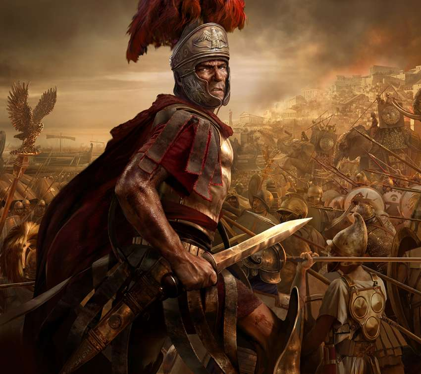 Total War: Rome 2 Mobiele Horizontaal achtergrond