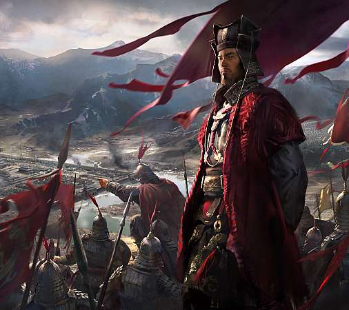Total War: Three Kingdoms Mobiele Horizontaal achtergrond