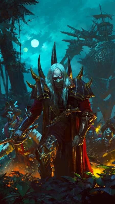 Total War: Warhammer 2 - Curse of the Vampire Coast Mobiele Verticaal achtergrond