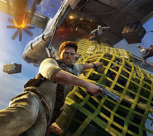 Uncharted 3: Drake's Deception Mobiele Horizontaal achtergrond