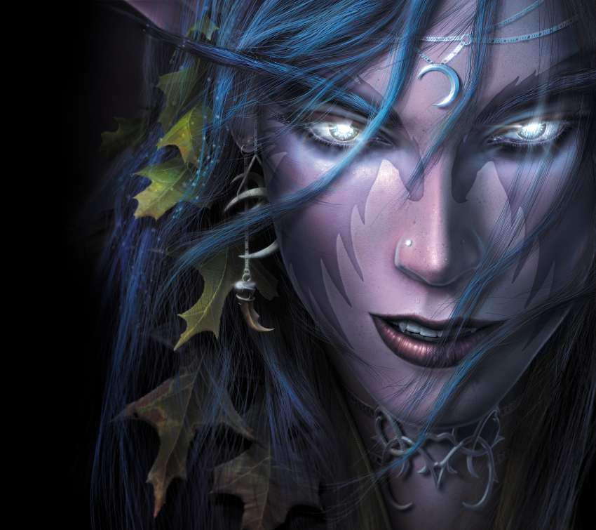 Warcraft 3: Reign of Chaos Mobiele Horizontaal achtergrond
