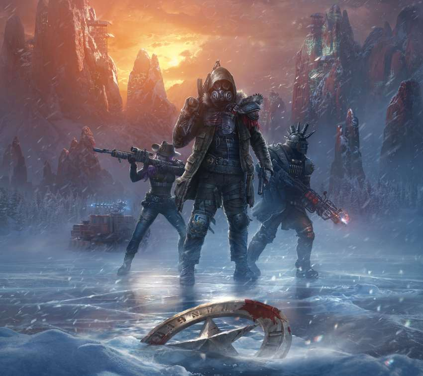 Wasteland 3 Mobiele Horizontaal achtergrond