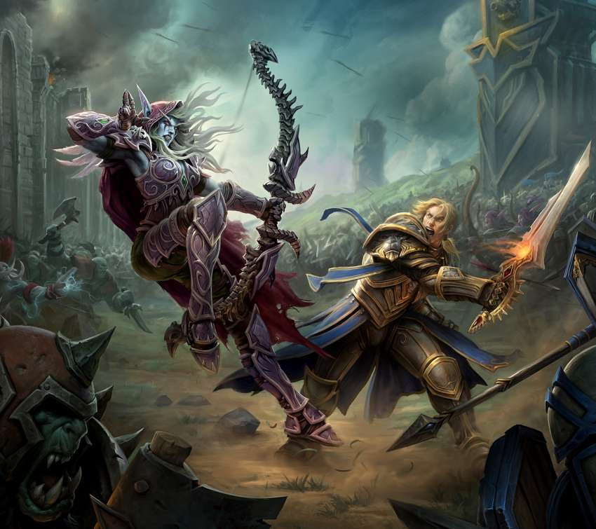 World of Warcraft: Battle for Azeroth achtergrond