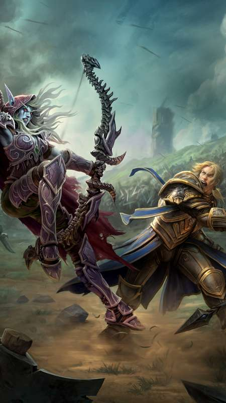 World of Warcraft: Battle for Azeroth Mobiele Verticaal achtergrond