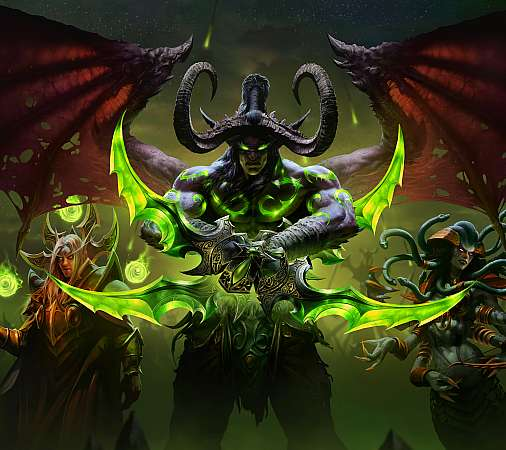 World of Warcraft: Burning Crusade Classic Mobiele Horizontaal achtergrond
