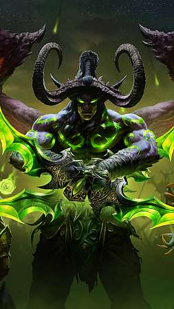 World of Warcraft: Burning Crusade Classic Mobiele Verticaal achtergrond