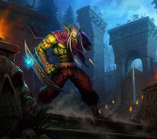 World of Warcraft: The Burning Crusade Mobiele Horizontaal achtergrond