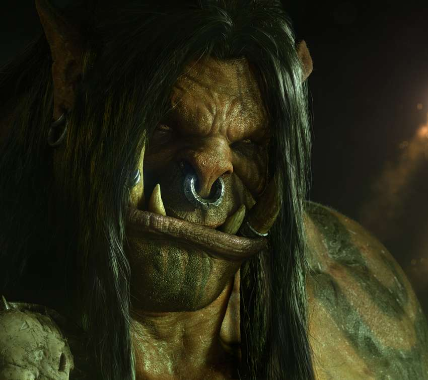 World of Warcraft: Warlords of Draenor Mobiele Horizontaal achtergrond