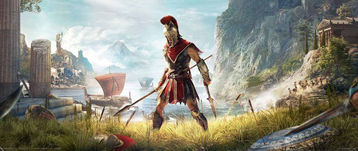 Assassin's Creed: Odyssey ultrawide achtergrond 01