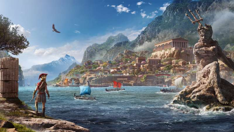 Assassin's Creed: Odyssey achtergrond 02