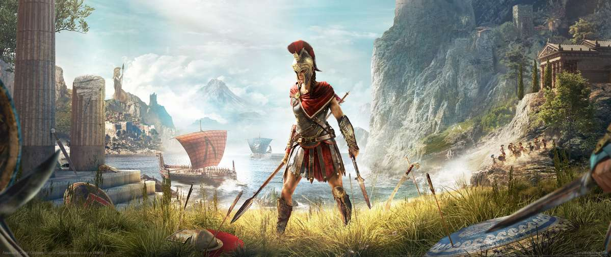 Assassin's Creed: Odyssey ultrawide achtergrond 08