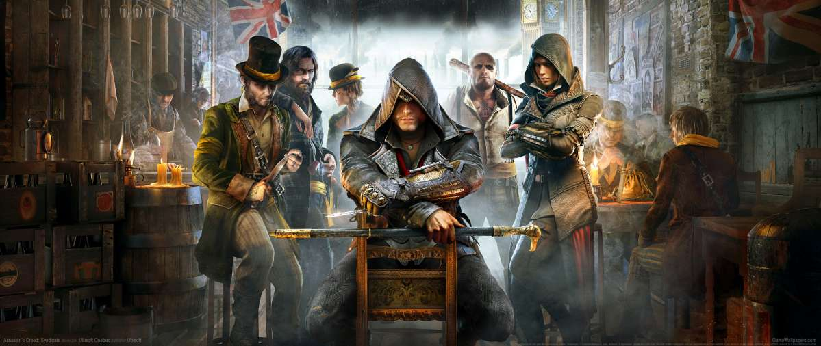 Assassin's Creed: Syndicate ultrawide achtergrond 02