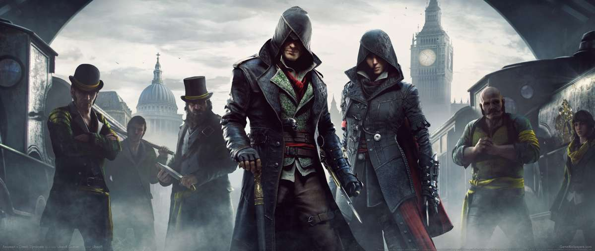 Assassin's Creed: Syndicate ultrawide achtergrond 05