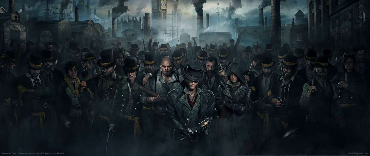 Assassin's Creed: Syndicate ultrawide achtergrond 12