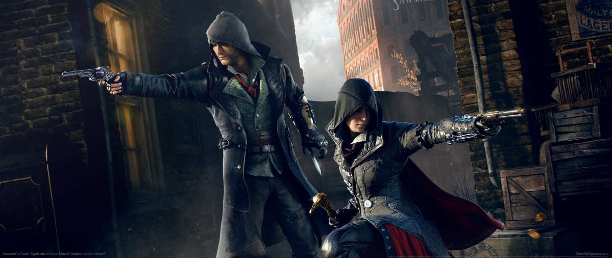 Assassin's Creed: Syndicate ultrawide achtergrond 14