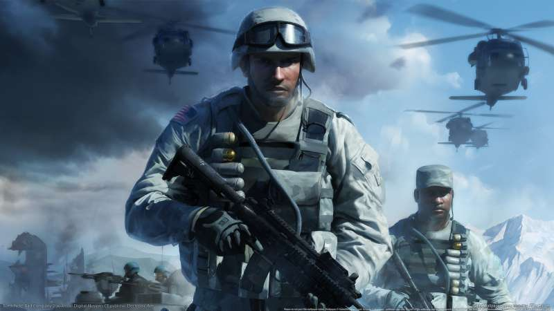 Battlefield: Bad Company 2 achtergrond 01