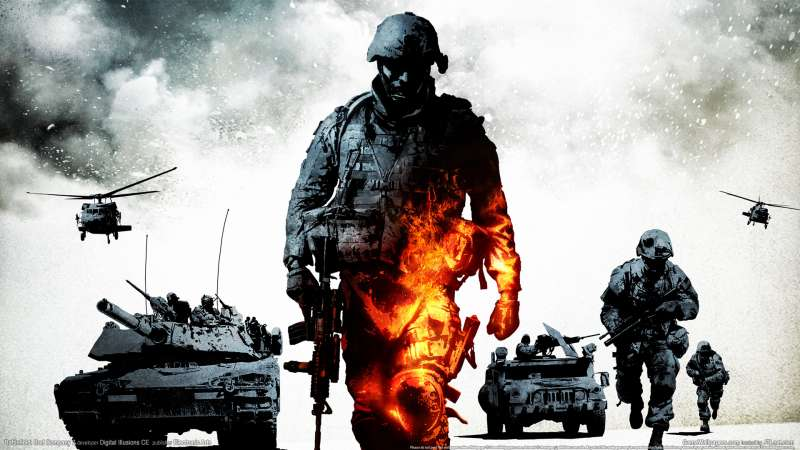 Battlefield: Bad Company 2 achtergrond 02