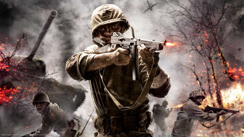 Call of Duty 5: World at War achtergrond 01