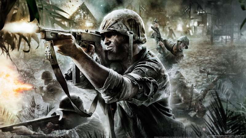 Call of Duty 5: World at War achtergrond 02