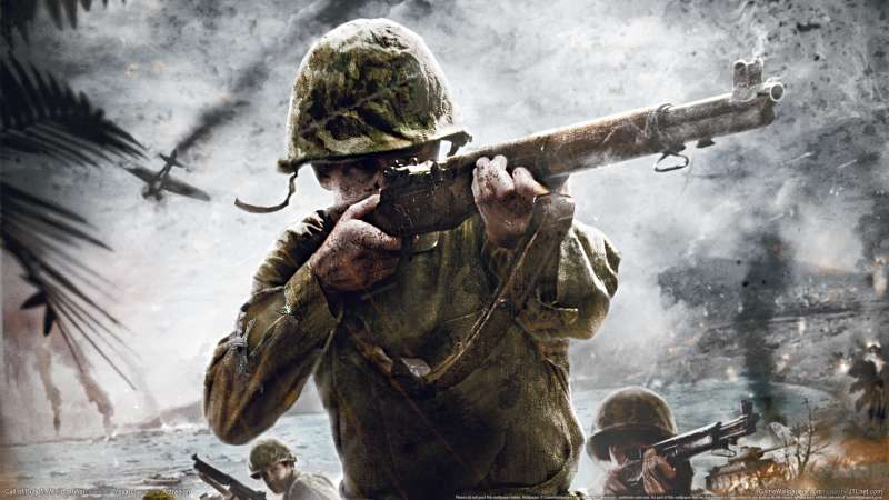 Call of Duty 5: World at War achtergrond 03