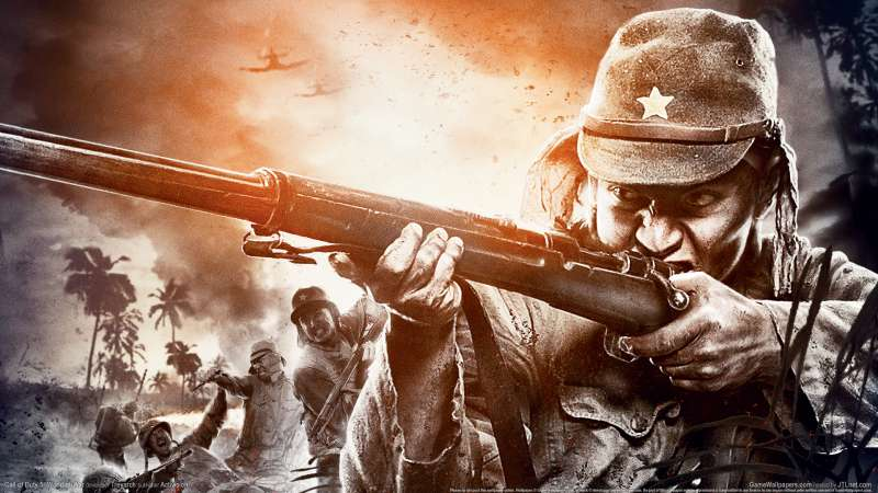 Call of Duty 5: World at War achtergrond 04