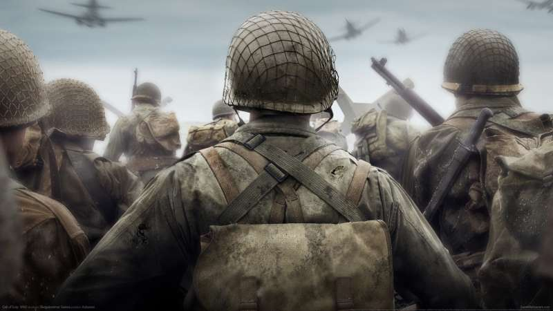 Call of Duty: WW2 achtergrond 01