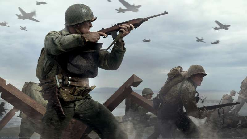 Call of Duty: WW2 achtergrond 02