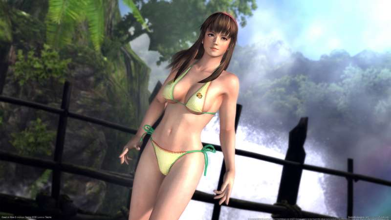 Dead or Alive 5 achtergrond 01