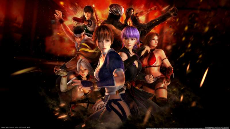 Dead or Alive 5 achtergrond 05