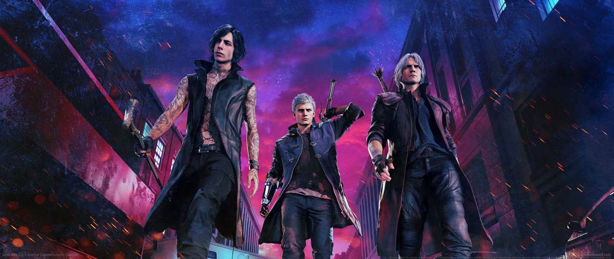 Devil May Cry 5 ultrawide achtergrond 01