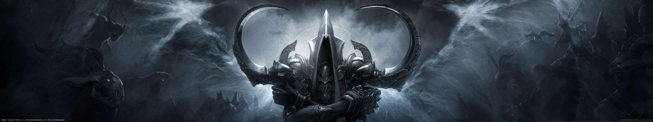 Diablo 3: Reaper of Souls triple screen achtergrond